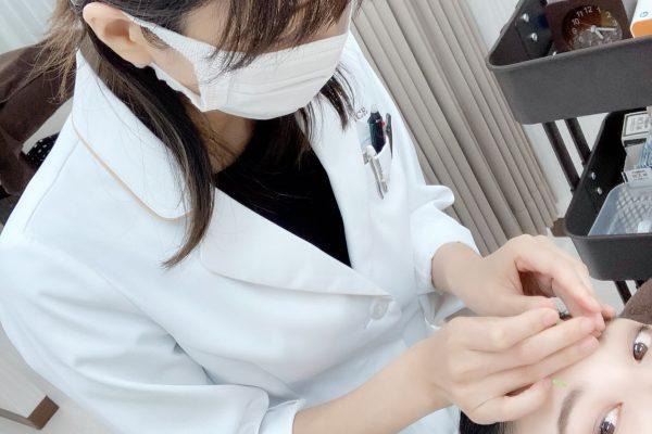 院内研修の様子~痛くない美容鍼~