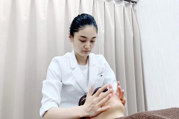 小顔矯正付き美容鍼コース
